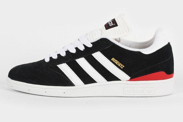 release date: 49d23 2d128 adidas Skateboarding Busenitz-Black-Running White-University Red