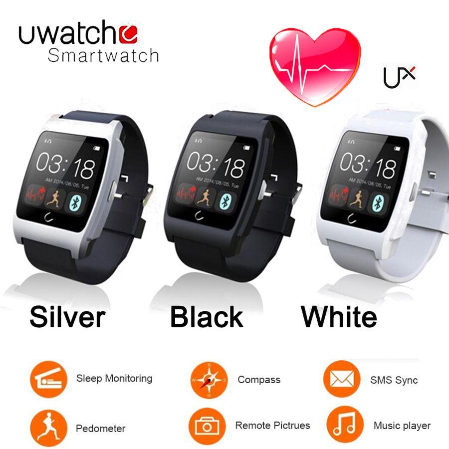 UX Smartwatch Uwatch MTK2501 bluetooth 4,0 smart uhr unterstützung Schrittzähler, herzfrequenz, Fernbedienung, Kamera für Android und IOS uhr männer //Price: $US $56.56 & FREE Shipping //     #smartwatches