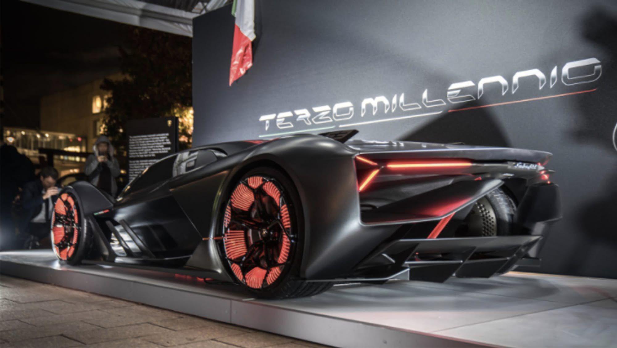 Lamborghini Sets Sights On Electrified Future With Terzo Millennio Concept Lamborghini Lamborghini Pictures Sports Car