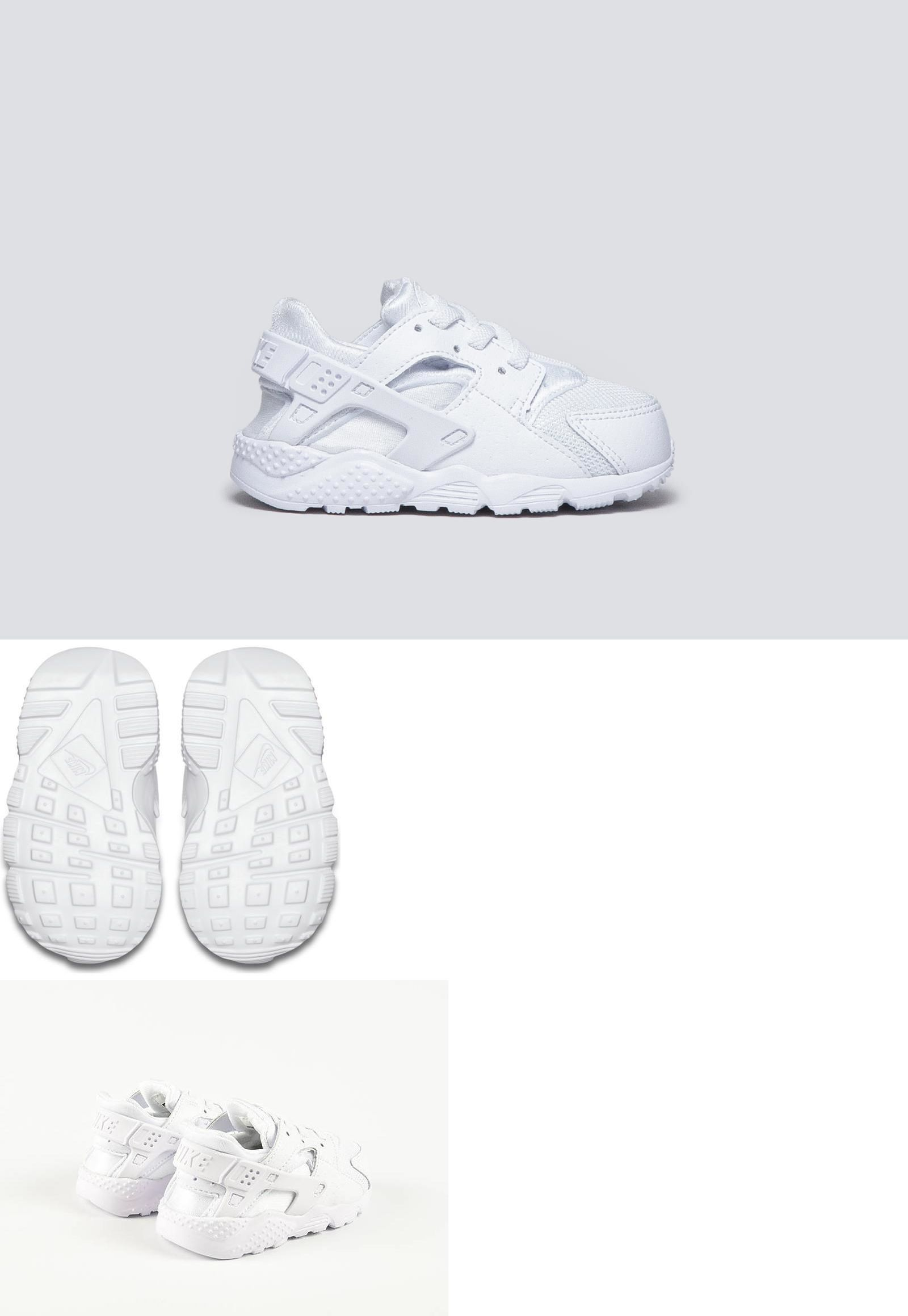 2ee9c590ab5 Baby Shoes 147285: Nike Huarache Run # 704950 110 White Pure Platinum  Toddler Sz 4 - 10 -> BUY IT NOW ONLY: $50 on eBay!