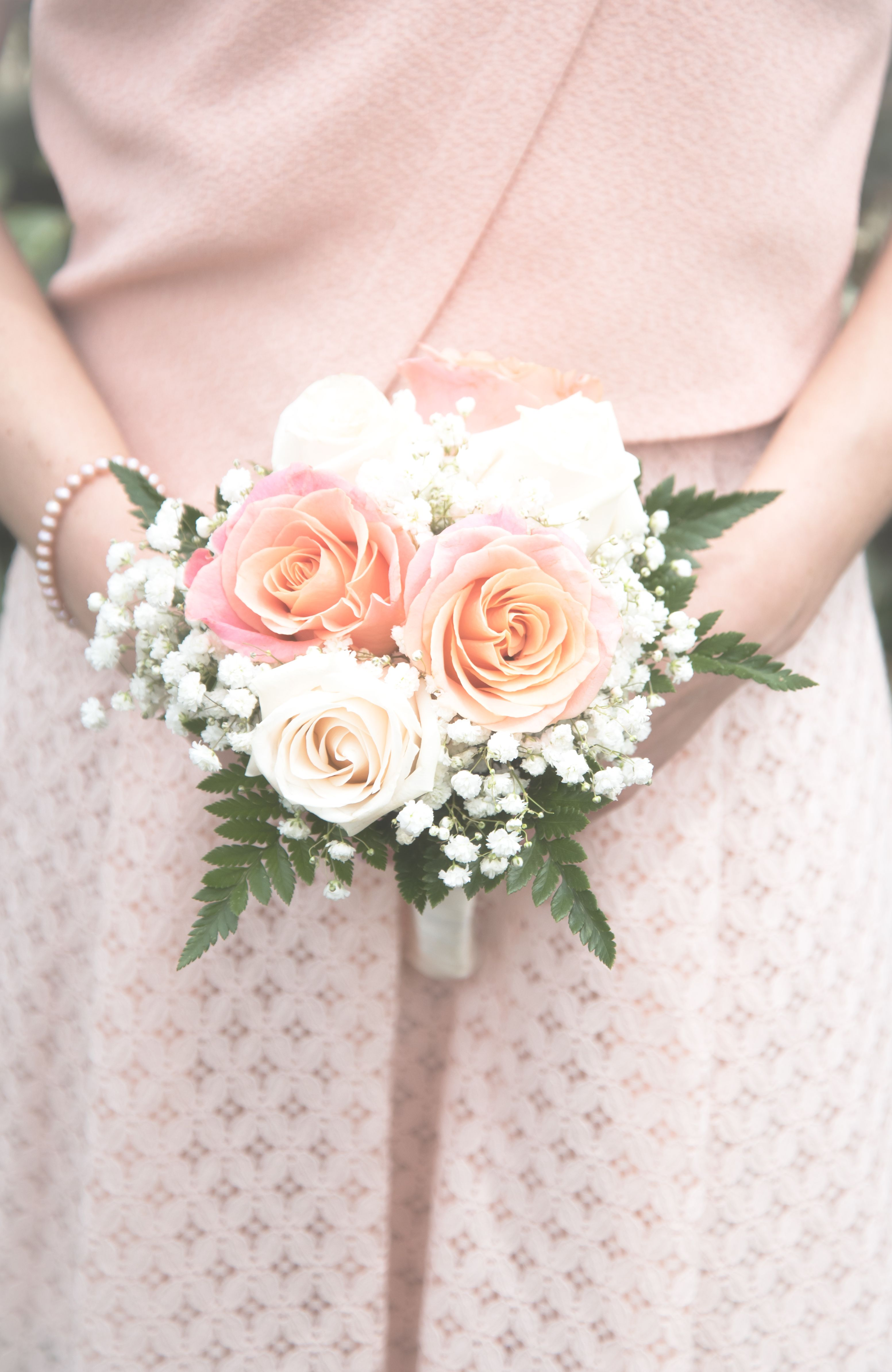 A little elegant bridesmaid bouquet Wedding day -wedding -destination -sardinia