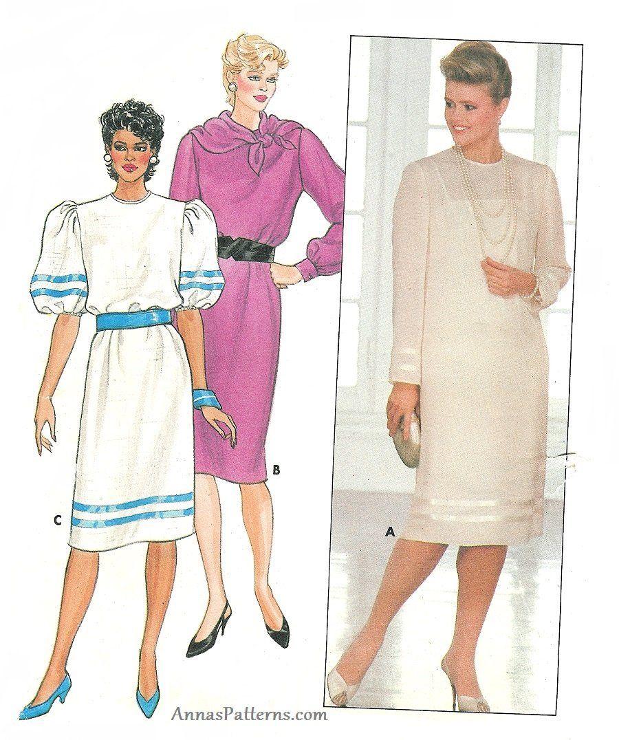 Pin von Annas Patterns auf Vintage Dress Patterns | Pinterest