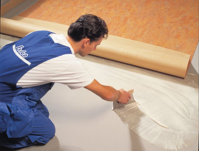 Genial How To Lay Linoleum Flooring U2013 A Step By Step Instruction.