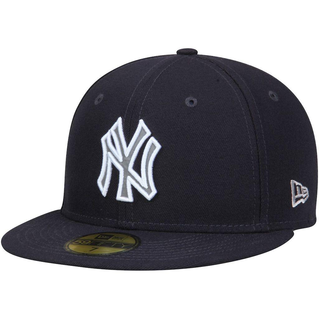 Park Art|My WordPress Blog_Navy Blue Yankees Fitted Hat