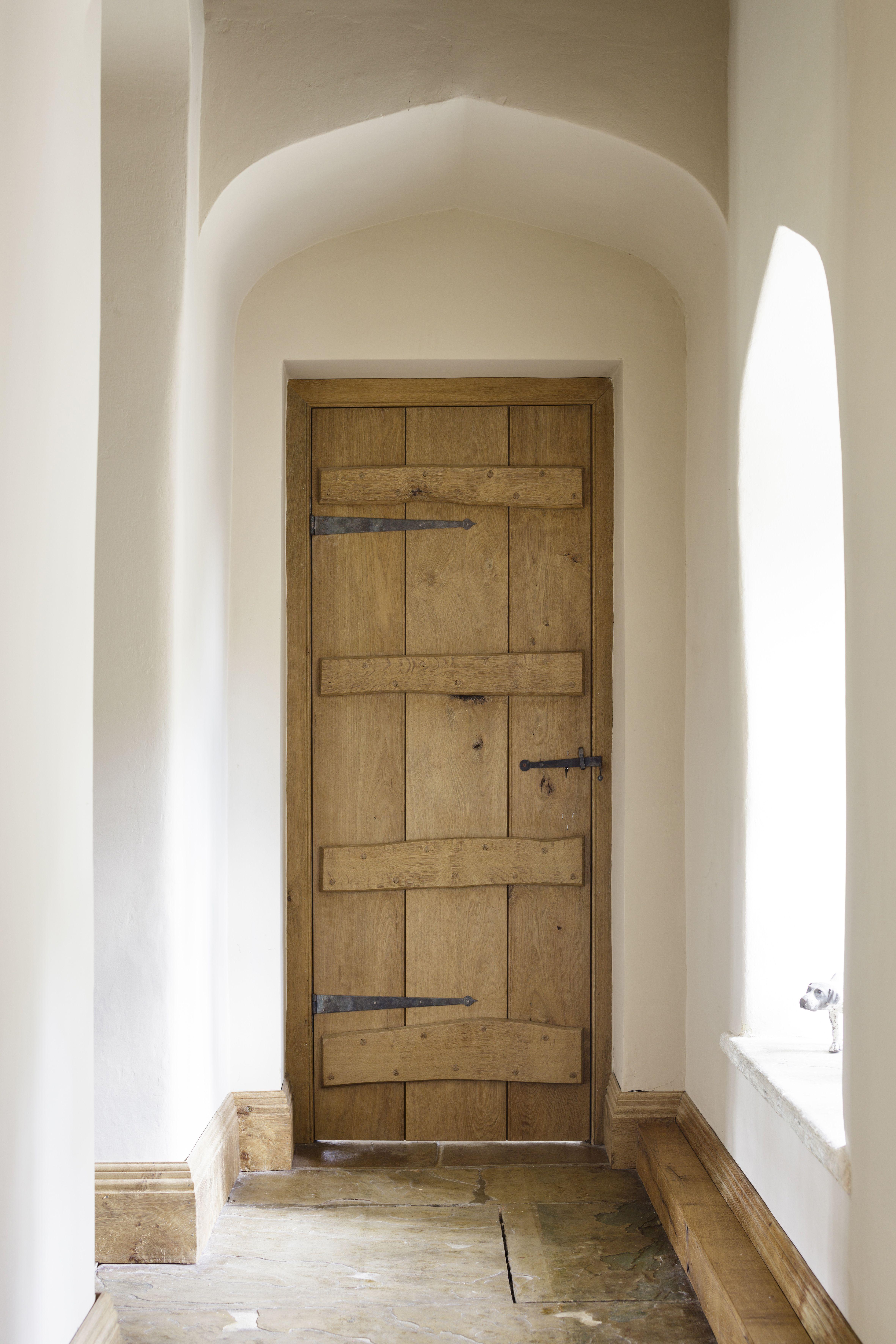 Internal Doors & Internal rustic oak plank and batten door. Handmade by Jack Badger ...