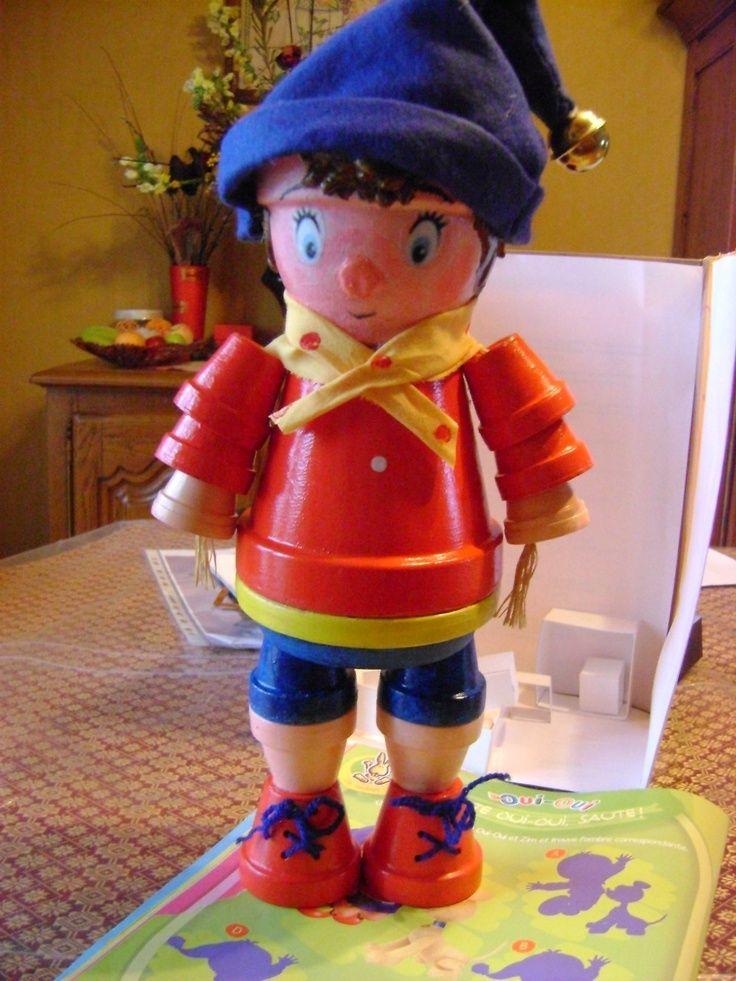 Boy Clay Pot People Vaso De Ceramica Vasos Criativos Vasos Decoracao
