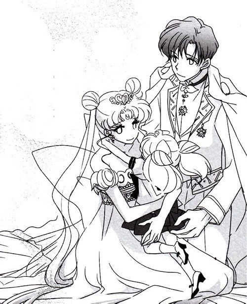 Neo Queen Serenity:Welcome Home, Chibiusa Chibiusa: MOMMY
