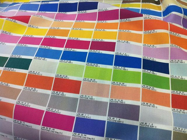 Colour Chart Fabric  Pantone Color Chart Colour Chart And Pantone