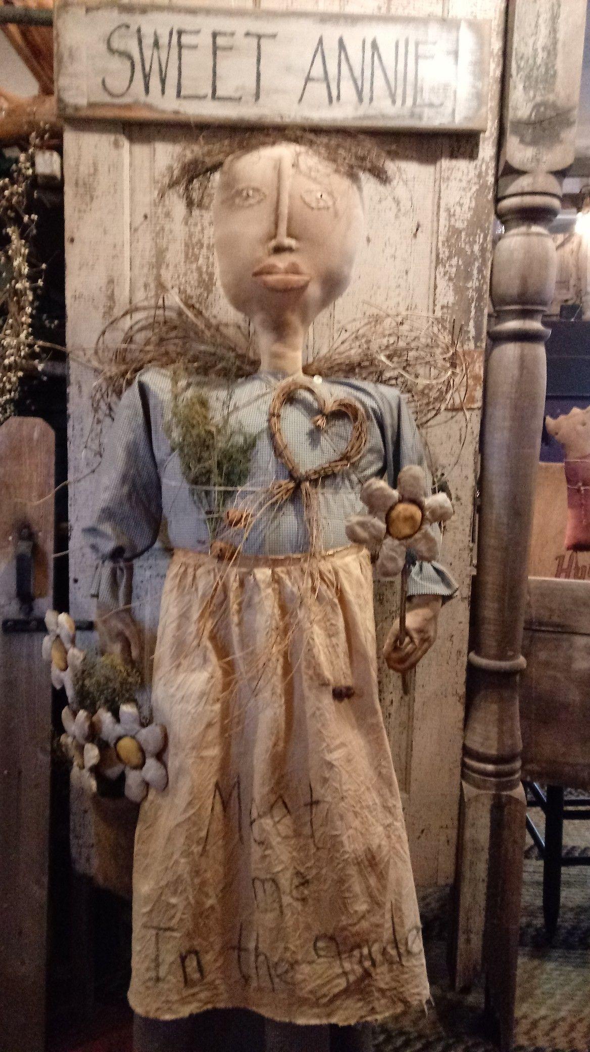 Prim Garden Angel Meet me in the garden Hinton Primitives | pRiM ...
