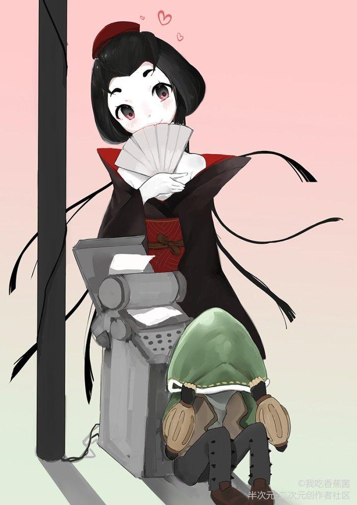 第五人格 紅蝶 | อะนิเมะ แฟนอาร์ท และ วอลเปเปอร์