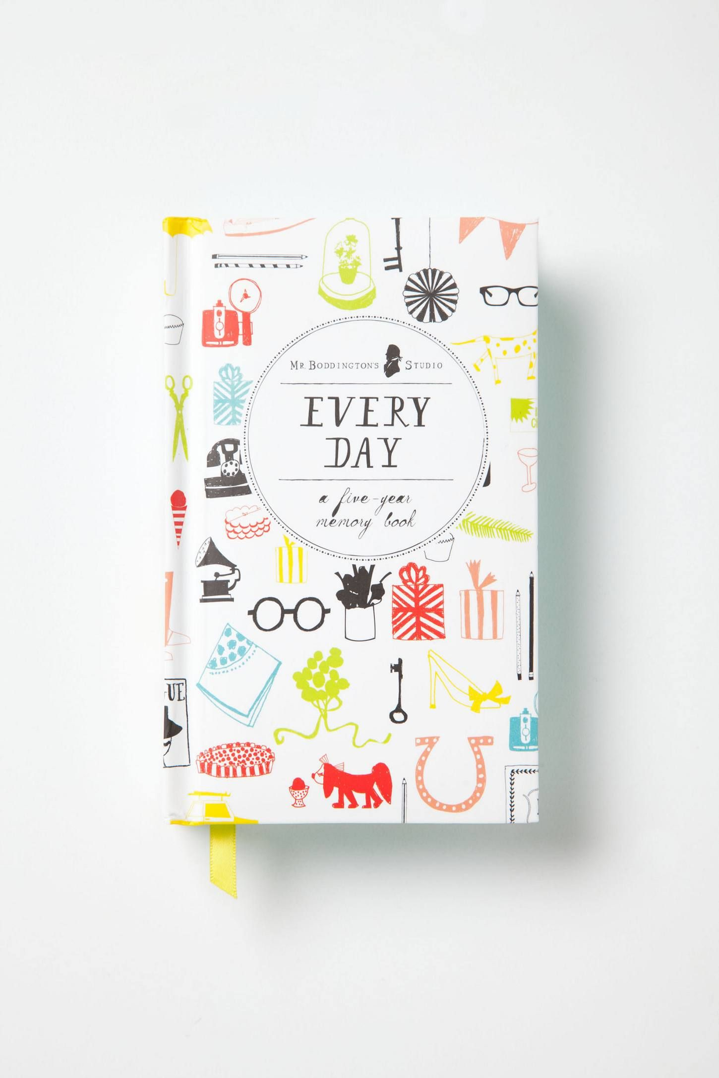 Every Day: A Five-Year Memory Book - anthropologie.eu