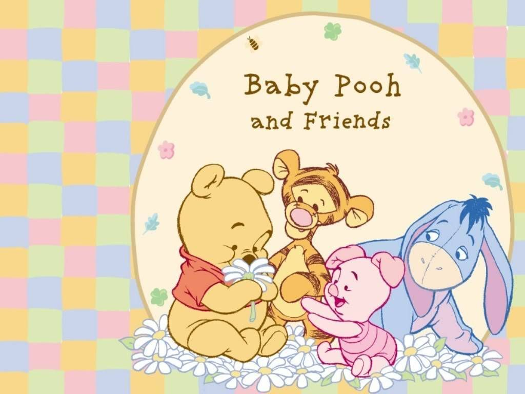 pooh and friends | Baby Pooh and Friends - Winnie The Pooh Picture ...