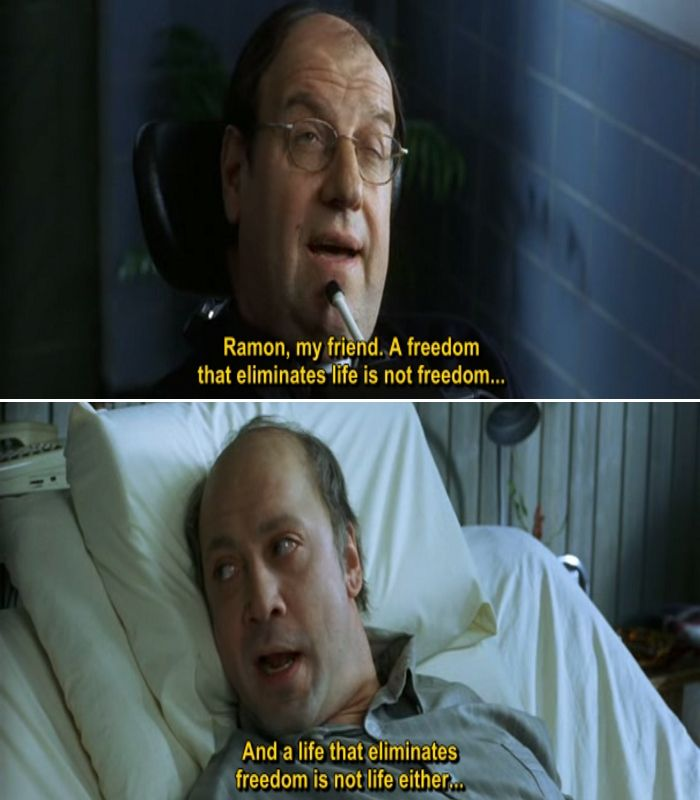 The Sea Inside 2004 Movie Quotes Movie Comics Quotes Favorite Movie Quotes Movie Quotes Movies Quotes Scene