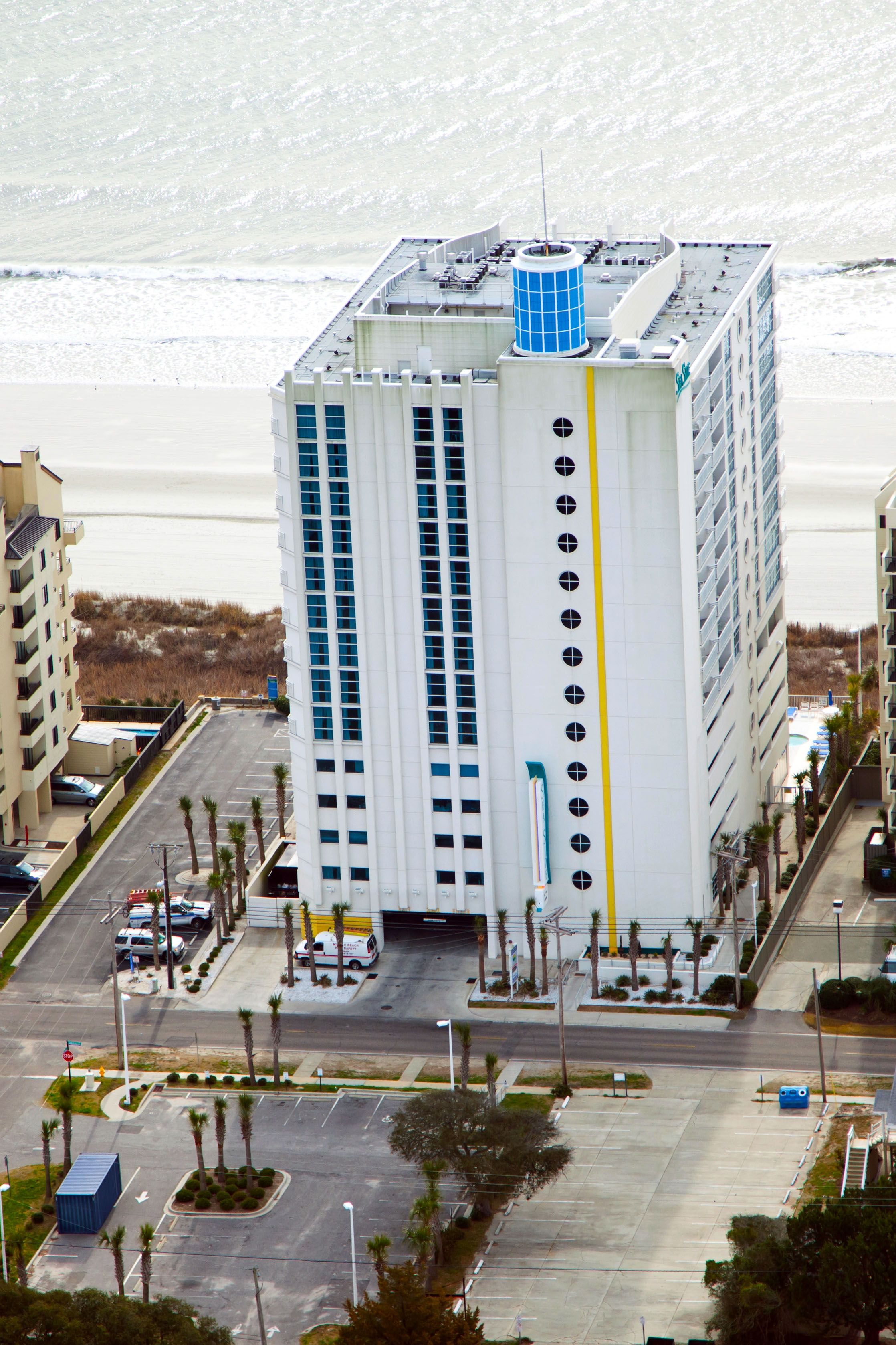 Another View Of SeaSide Resort In North Myrtle Beach, SC