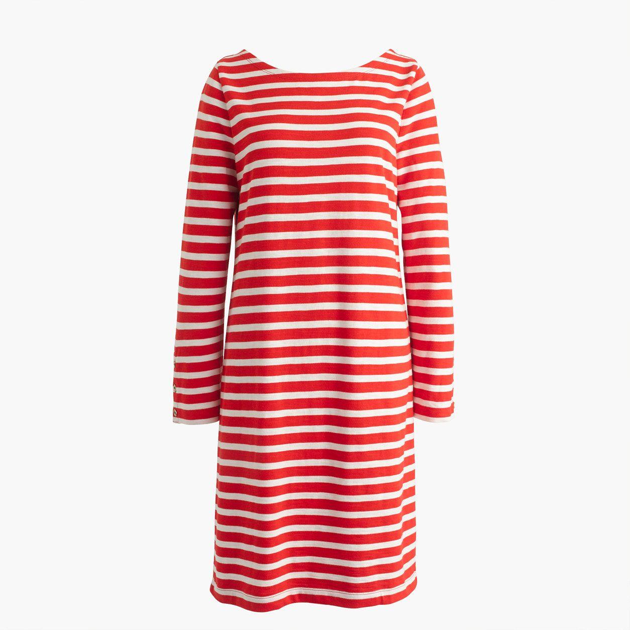 28959673c99 J.Crew Womens Striped T-Shirt Dress (Size XXXS)