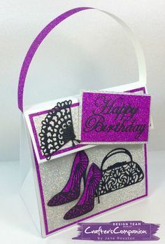 Crafters Companion Sara Signature Collection Glamour Cardmaking