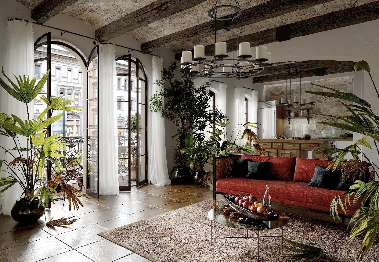 Pin by audra gibbs on home Spanish style interiors