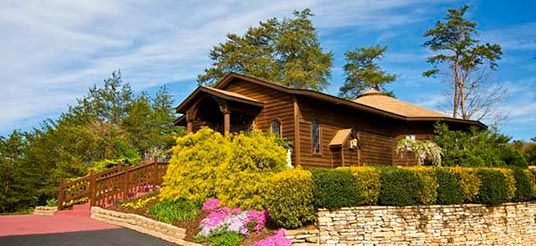 Where Donnie I Got Married Mountain Valley Chapel In Pigeon Forge TN November