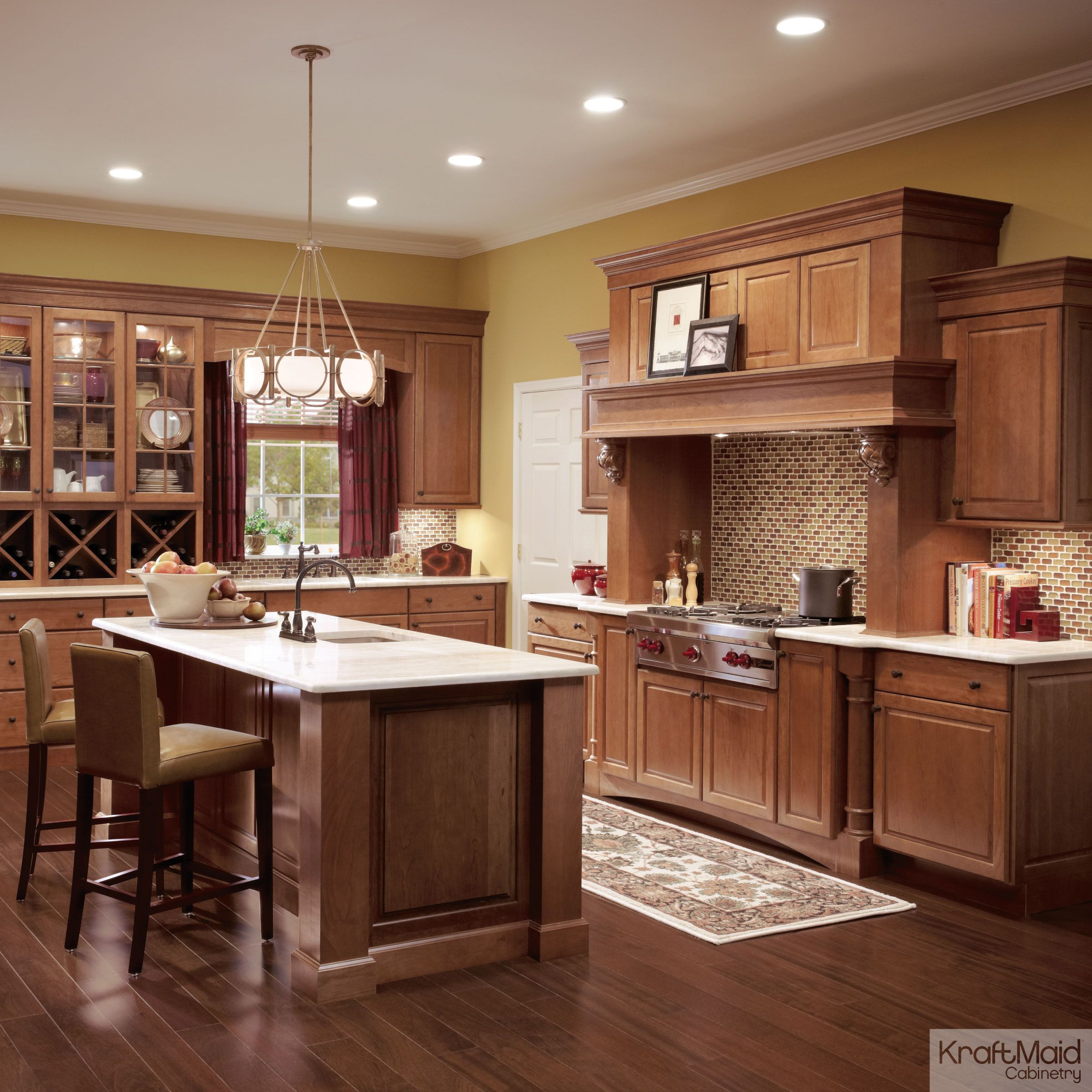 Pin On Kitchens Classically Traditional