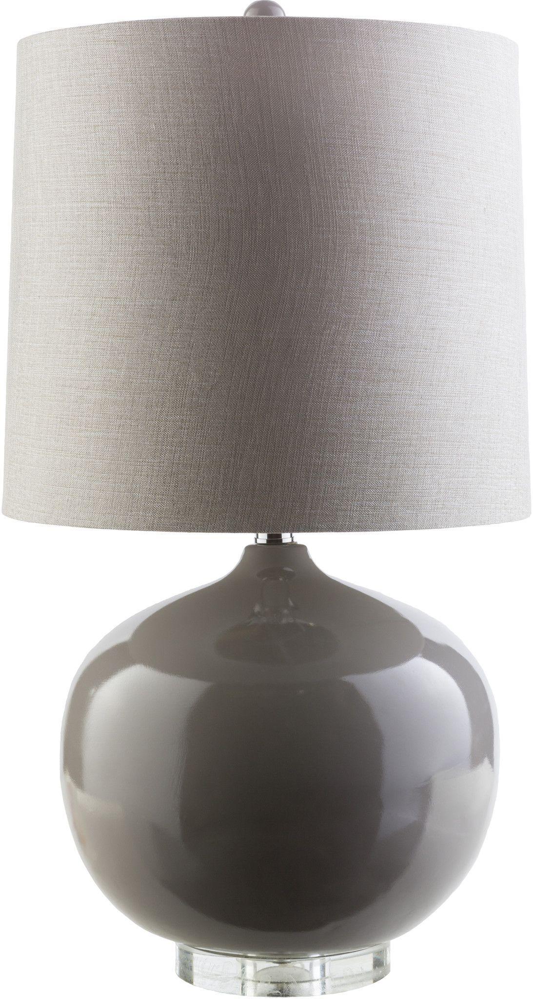 Lamp Modern Floor Lamp Gray Acrylic ivory