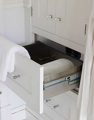 Bon The Built In Warming Drawer (usually Seen In The Kitchen And To Keep Food · Bathroom  Towel ...
