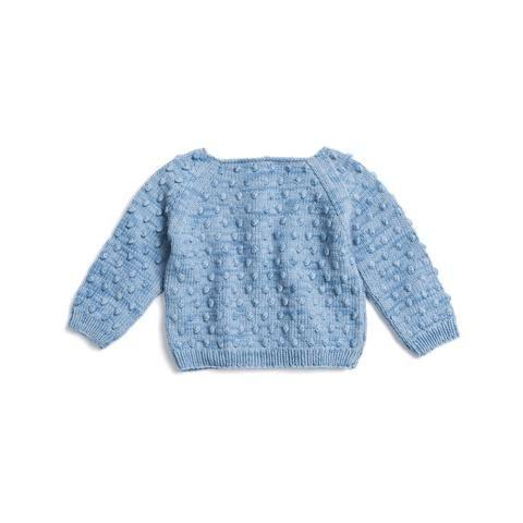 d994e3fc5eaa Misha   Puff Summer Popcorn Sweater - Sky