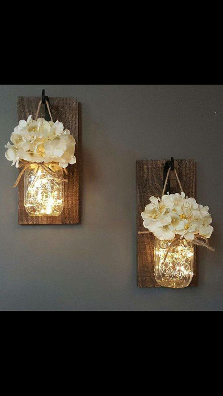 Rustic sconces rustic diy furniture d coration murale - Exterior wall decorations for house ...