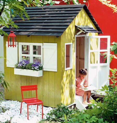 Leikkimokin Ohjeet Askartelu Ja Muut Tekniikat Suuri Kasityo Play Houses Kids Backyard Playground Backyard Buildings