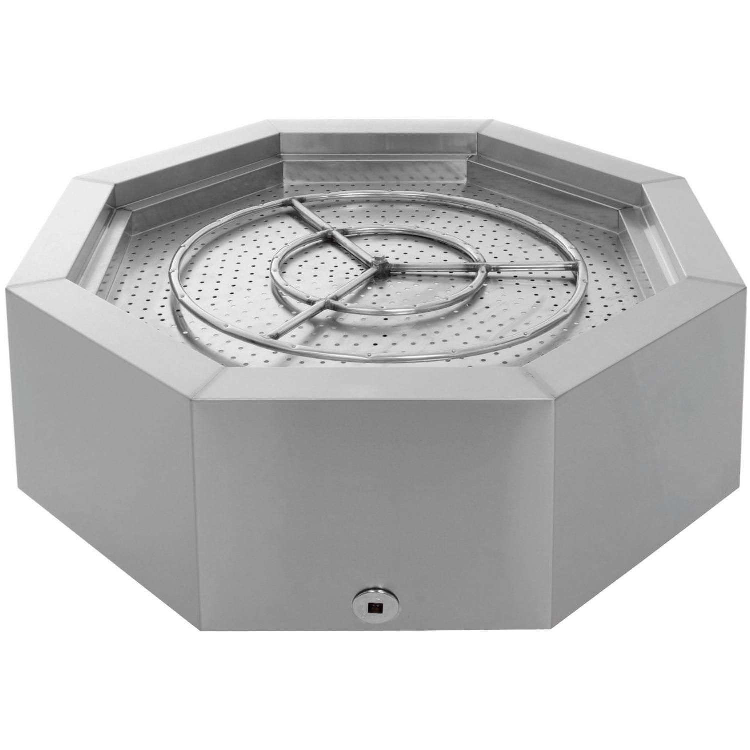 Lakeview Outdoor Designs 42-Inch Stainless Steel Octagon ...