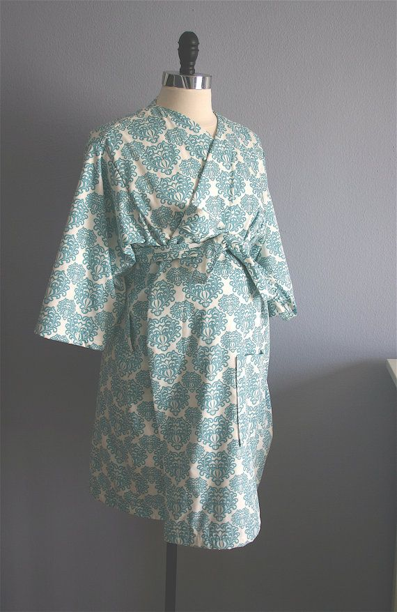 Maternity Robe. Hospital Robe. Hospital Gown. Nursing Robe. Great ...