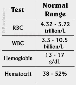 how to read blood test results nz