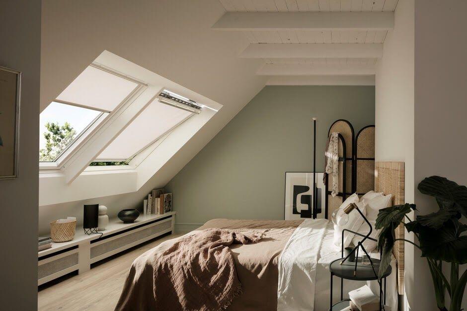 Schlafzimmer Gestalten Dachschrage in 2020   Schlafzimmer gestalten, Schlafzimmer dachschräge, Haus