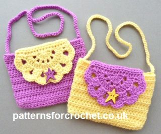 Super-Cute Crocheted Kids Handbag For A Mini-Fashionista  05c1432545b48