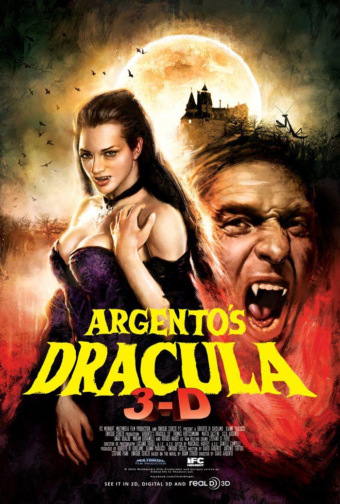 Dario Argento S Dracula 3d New Poster Dracula Horror Movies