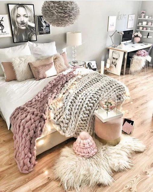 Teen girl bedrooms, Push these vibrant makeover plan number 6224982415 for a ado… Genç Odası