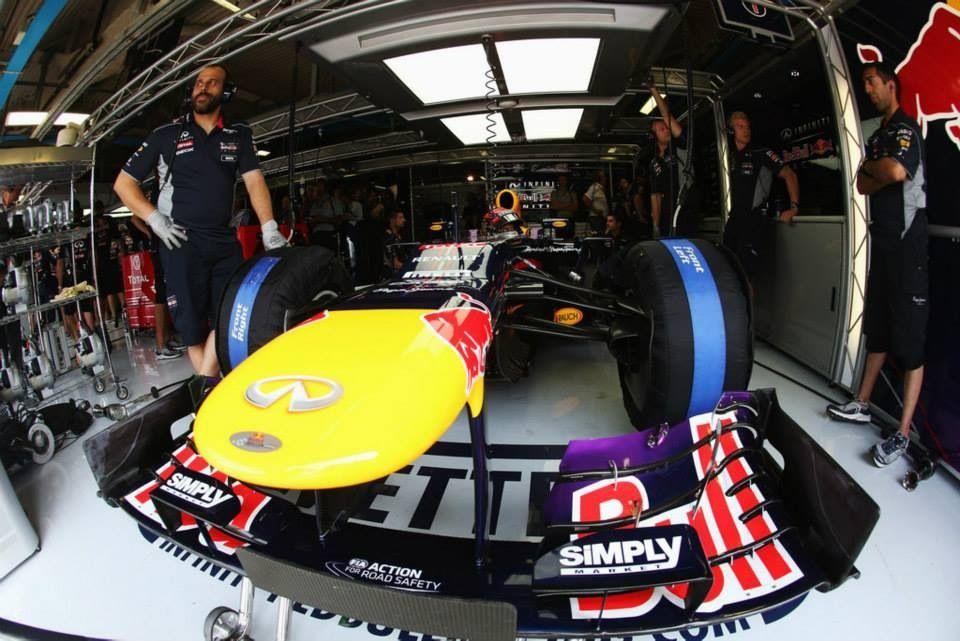 Red Bull F1 Monza 2013