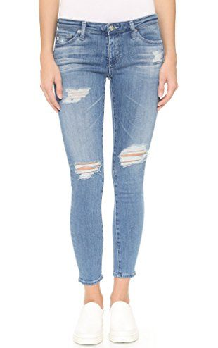 AG Women's The Legging Ankle Jeans, 10 Years Cloudy Sky, 24 ❤ ...