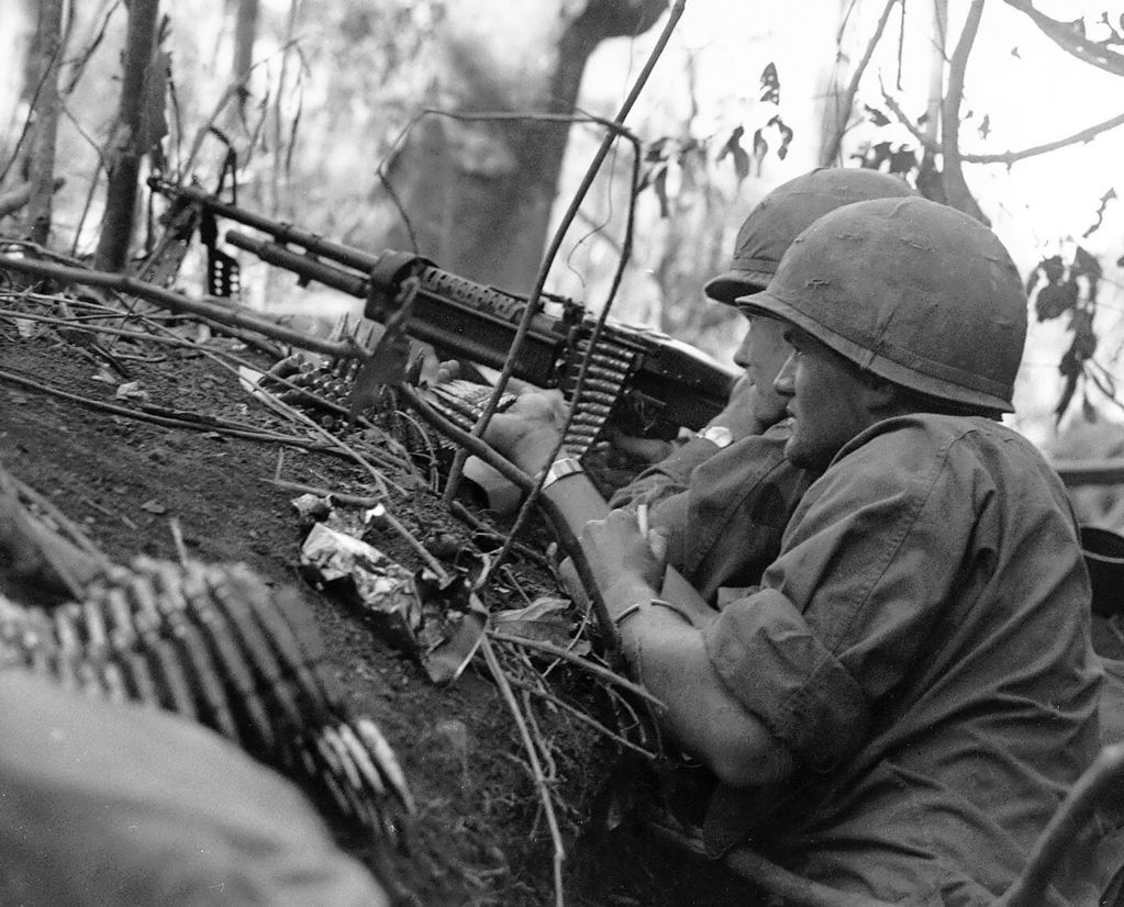 an anonymous vietnam war hero the m machinegun armchair an anonymous vietnam war hero the m60 machinegun armchair general and historynet >>