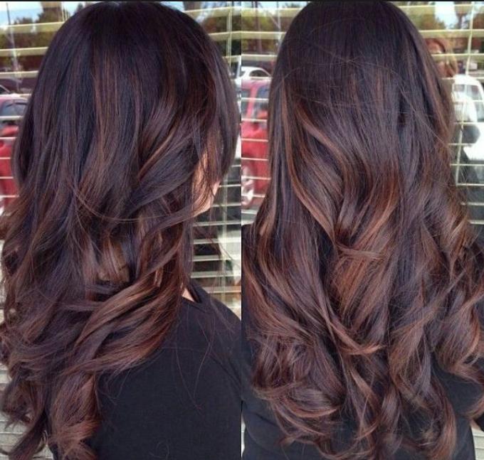 Dark Brown Hair With Subtle Red Highlights Hair Styles Long Hair Styles Hair Color Dark
