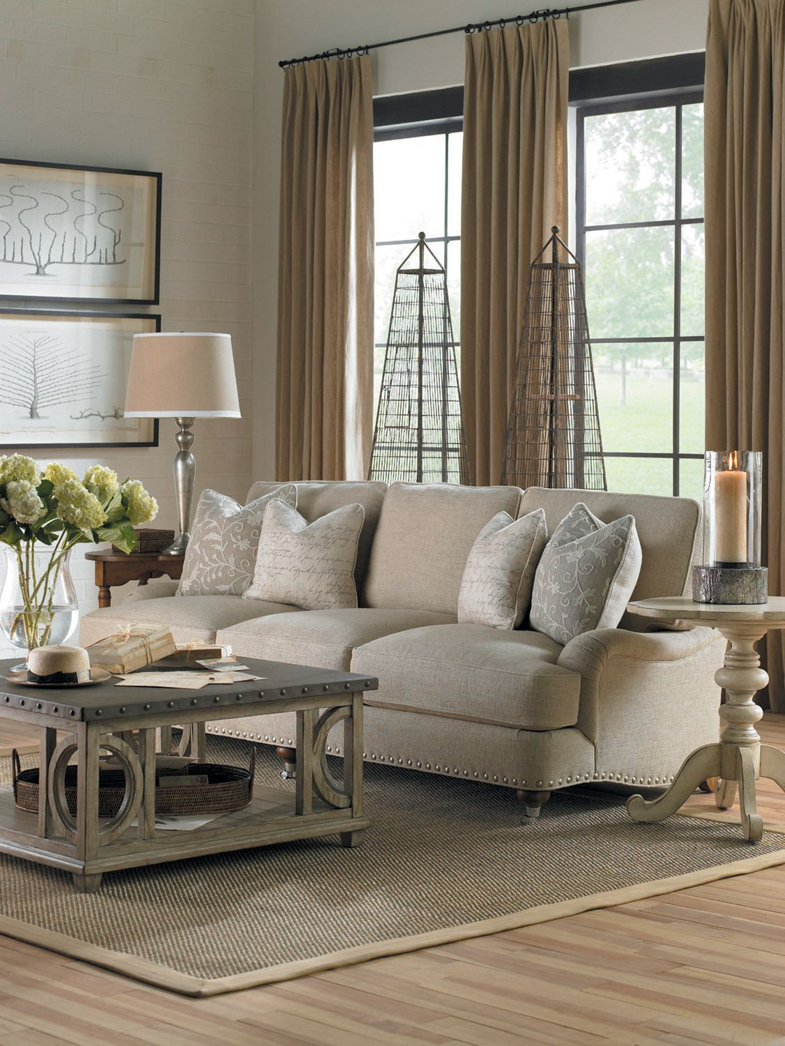 Twilight Bay Carley Sofa Lexington Furniture Home Gallery Stores