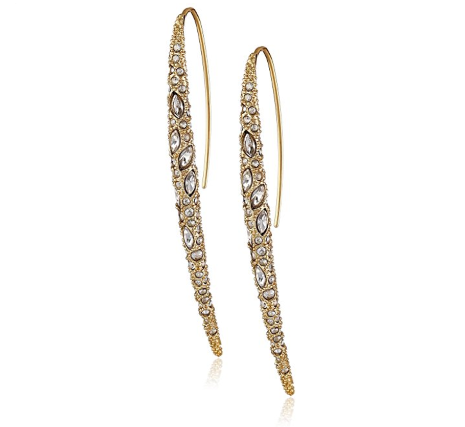 Alexis Bittar Encrusted Spear Earring With Infinity Wire rE9EFm
