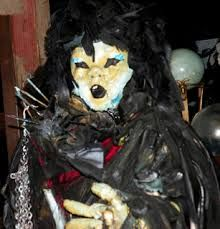 The Shadow Doll - Can come to you in your dreams and stop your heart - Warrens Occult Museum, Monroe, CT.