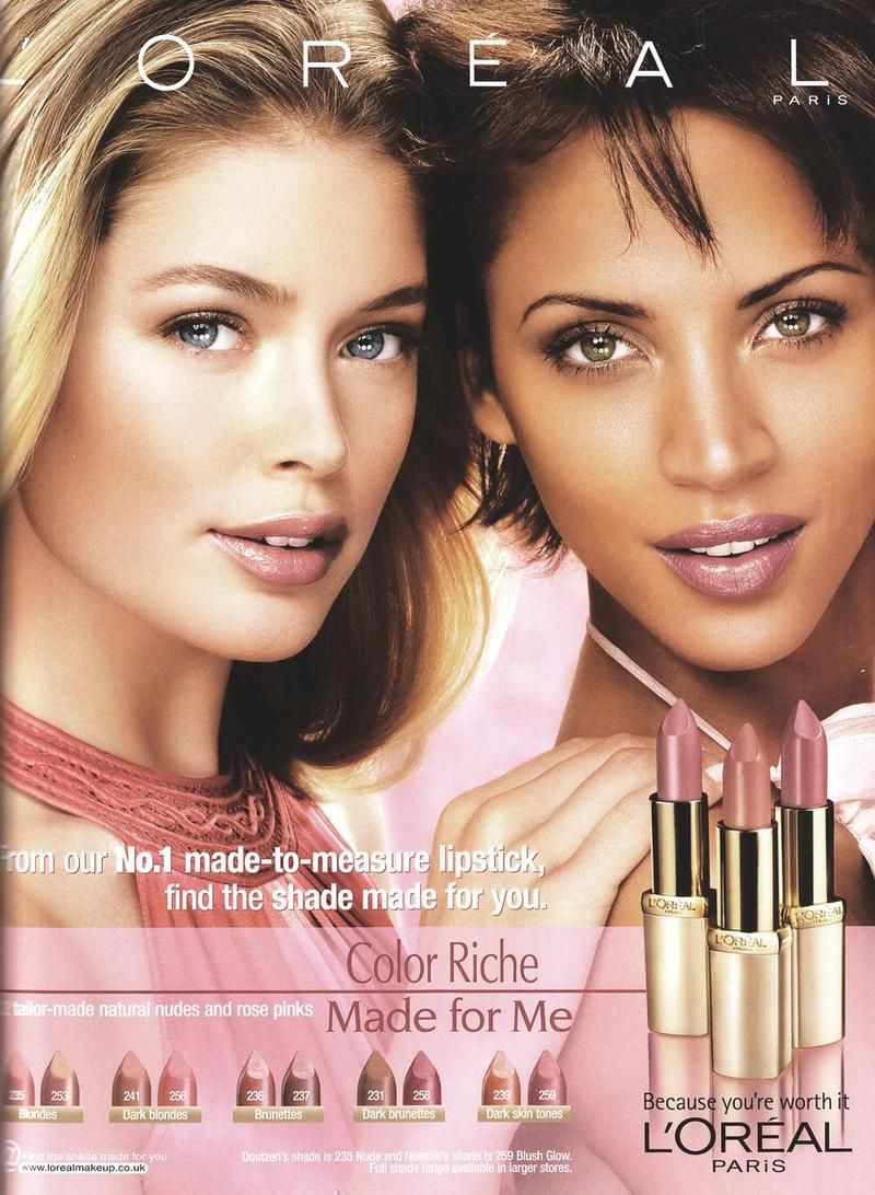 L Oreal F W08 L Oreal Beauty Advertising Loreal Makeup Ads