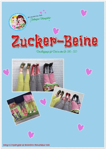 ♥ Zucker-Beine ♥ eBook-Leggings von ♥ Seelenfein-Manufaktur ♥ auf DaWanda.com