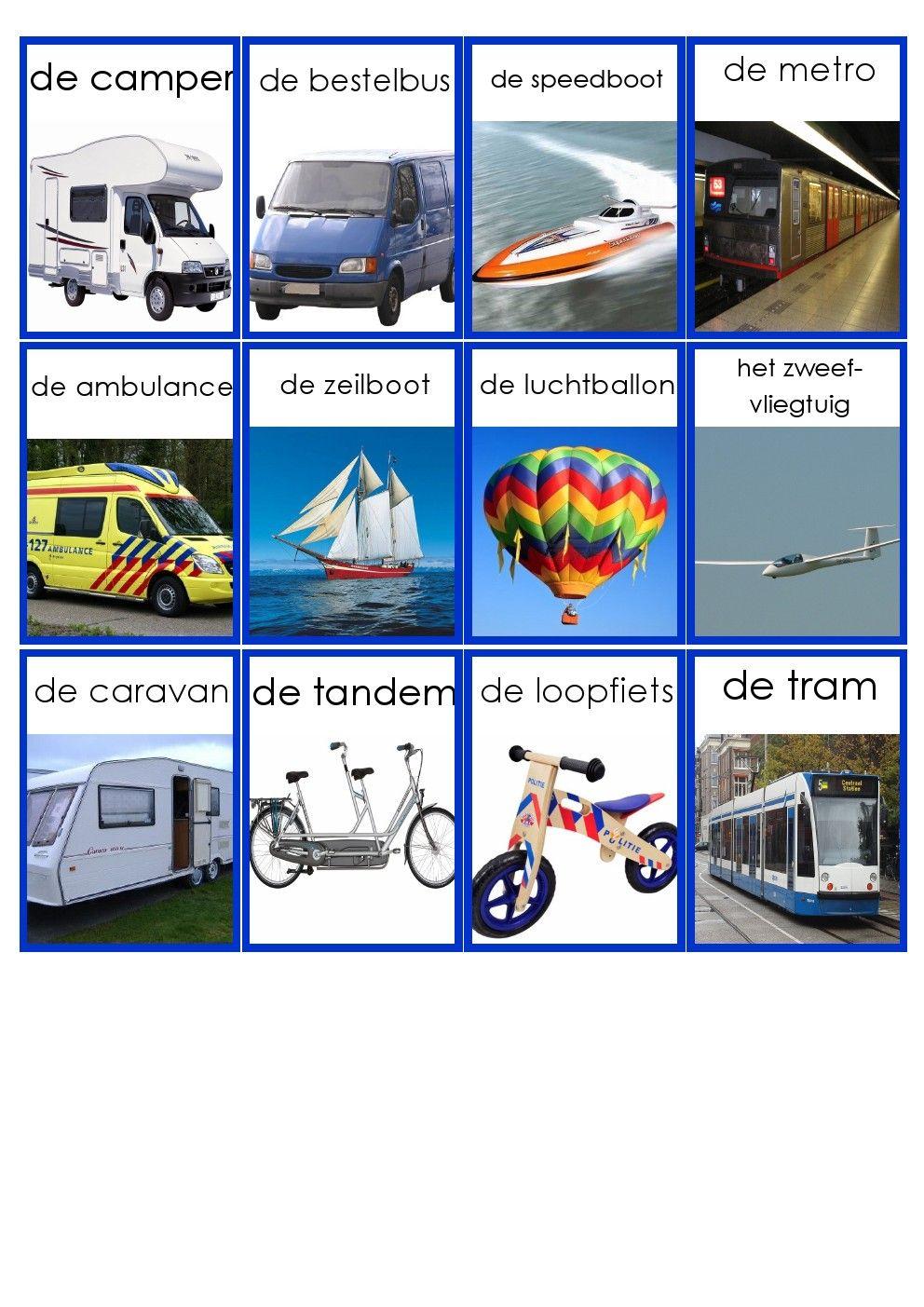 Vervoer 3 Vervoer Thema Vervoer Op Reis