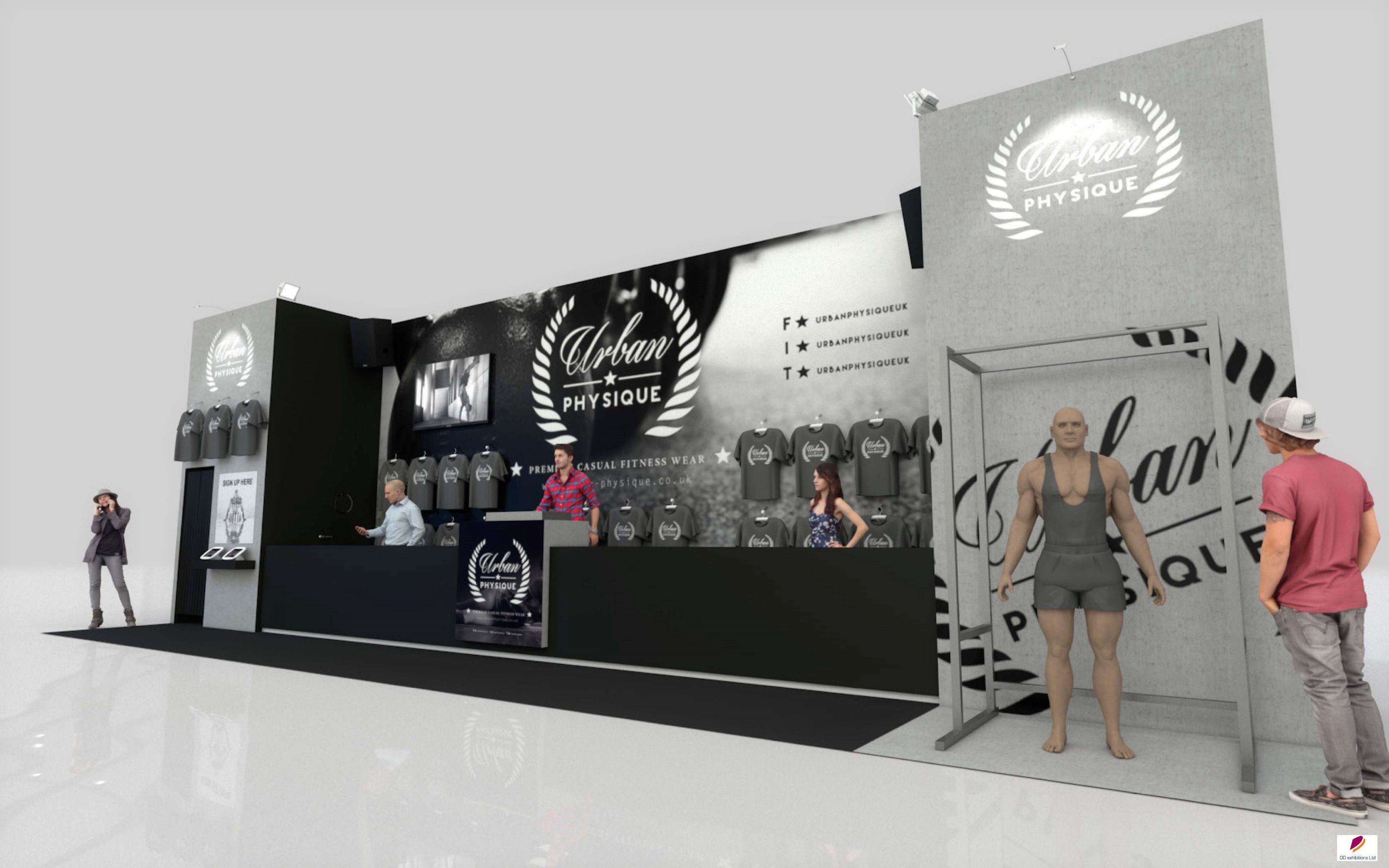 Exhibition Stand Design Birmingham : Exhibition stand design created for urban