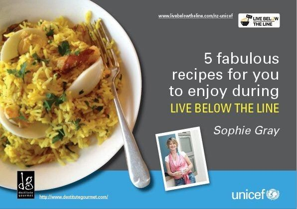 Live Below The Line recipes - UNICEF - Live Below The Line - The