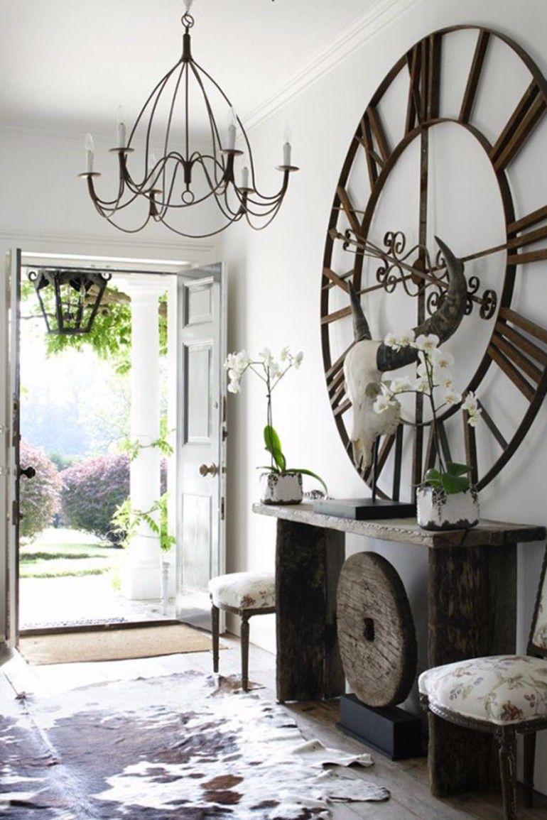 Elevate Your Living Room Design by Using Clocks   Clocks, Living ...