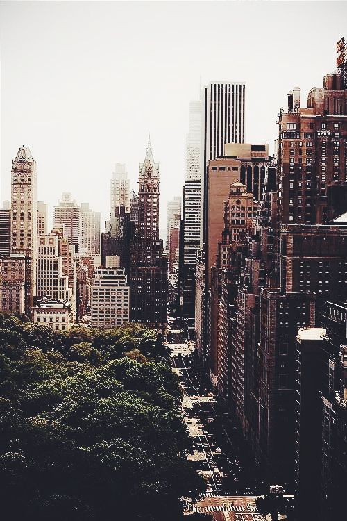 I like cities. Thousands of people living different lives