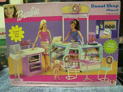 Barbie Donut Shop Playset Ebay Toys Amp Dolls